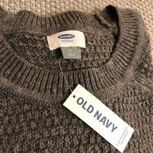 Old Navy knit sweater in grey NWT